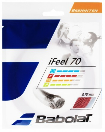 Babolat Naciąg 10,2m IFEEL 70 0,70mm Red